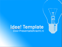 idee gratis template sjabloon