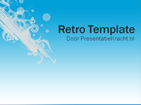 retro gratis template